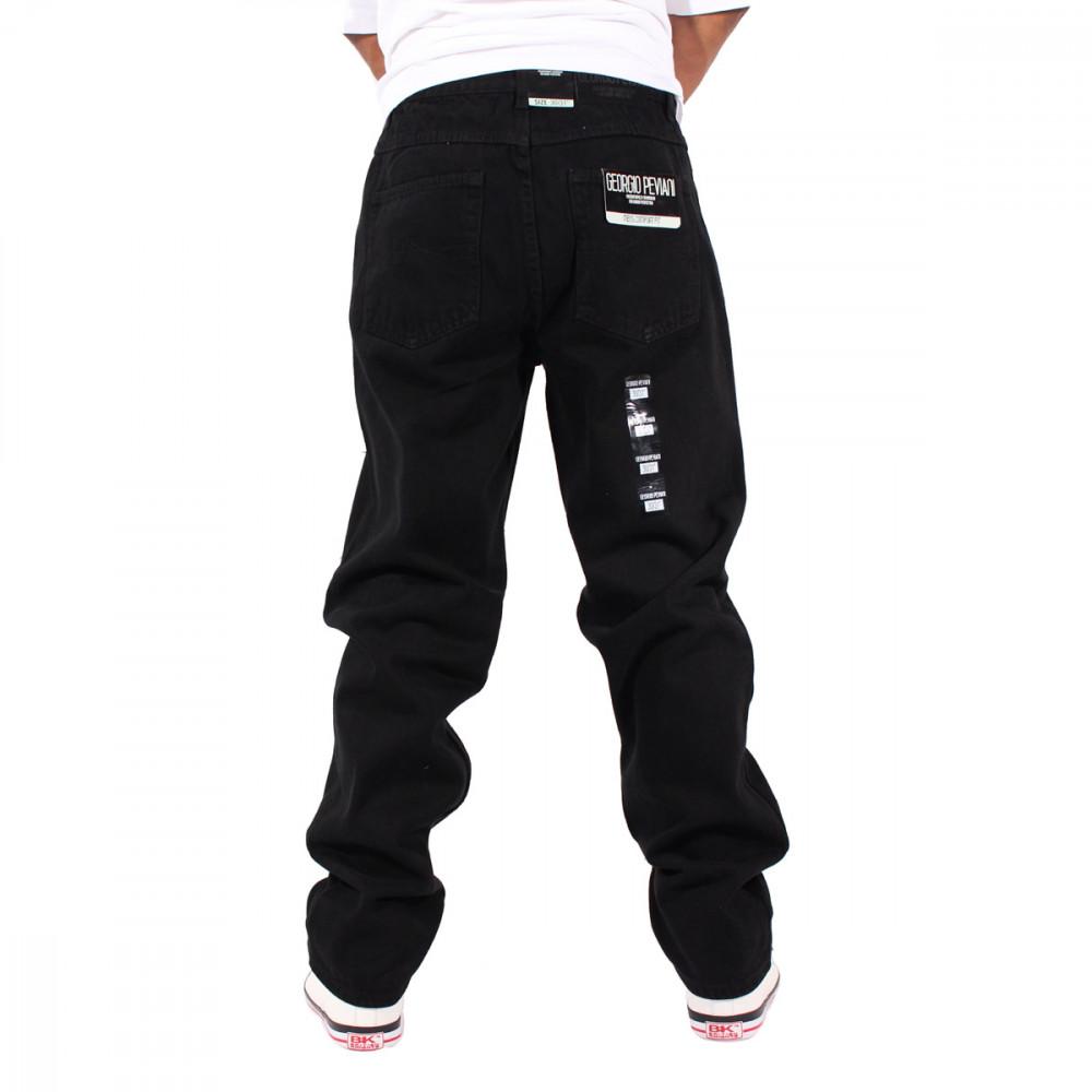 f528aeed Georgio Peviani Black Comfort Fit Jeans