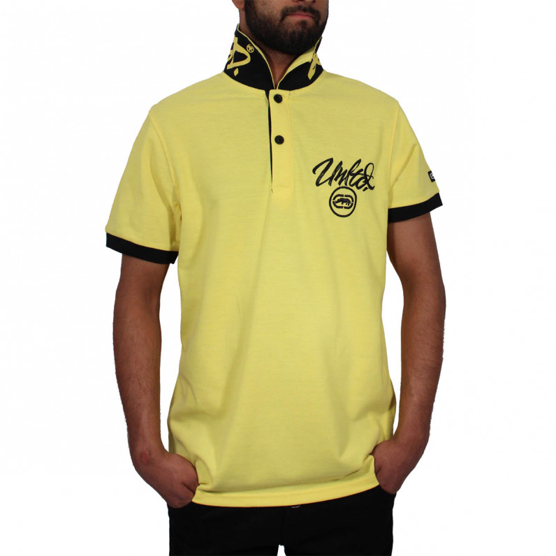 Men's Yellow Comet Polo T-Shirts