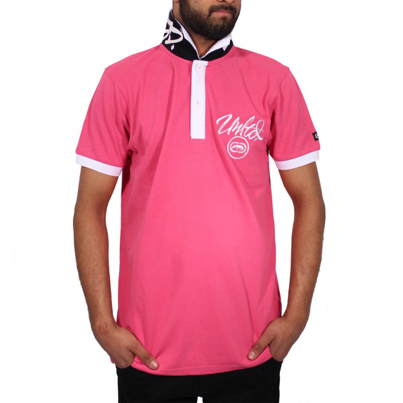 Men's Pink Comet Polo T-Shirts