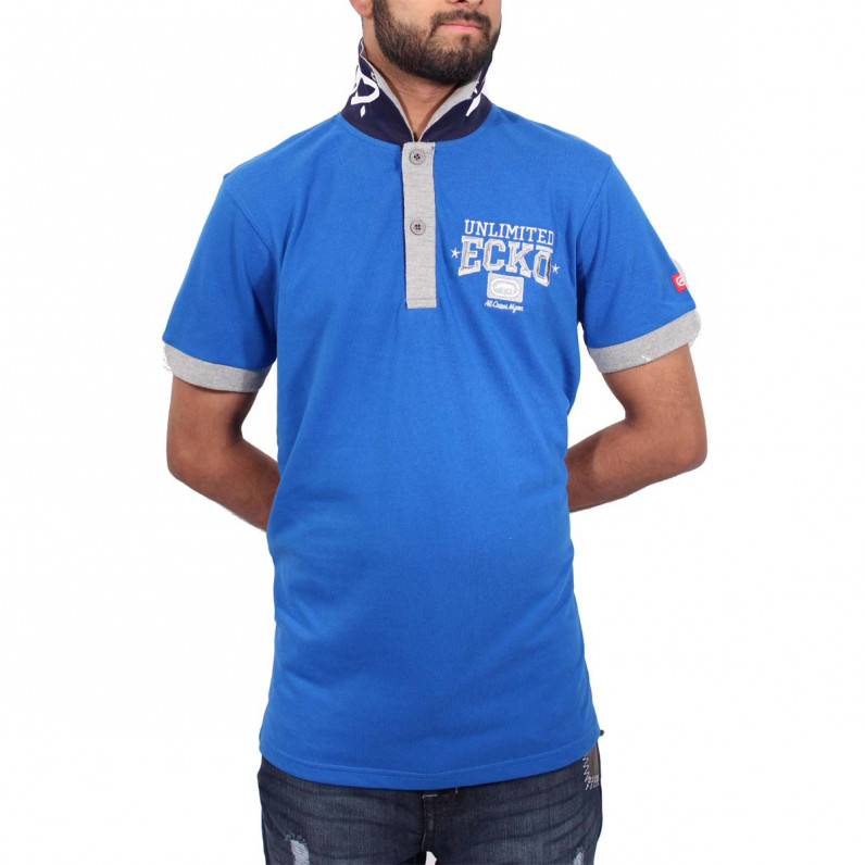 Men's Blue Magnum Polo T-Shirts