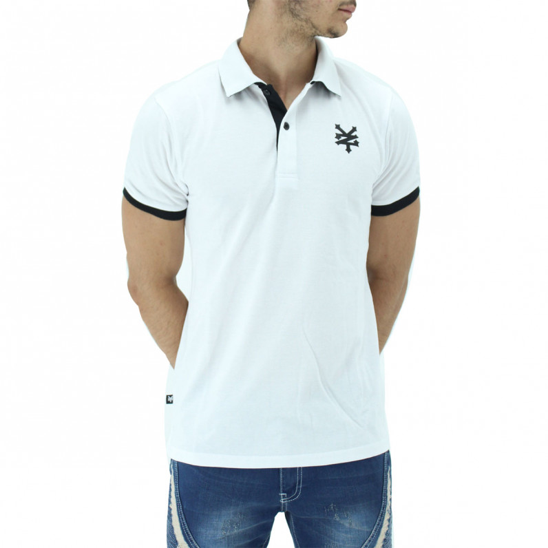 White Summer Cotton Polo Tee Shirts