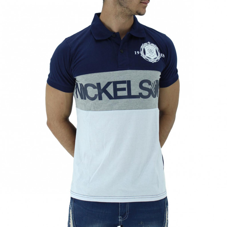 Navy Summer Cotton Polo Tee Shirts
