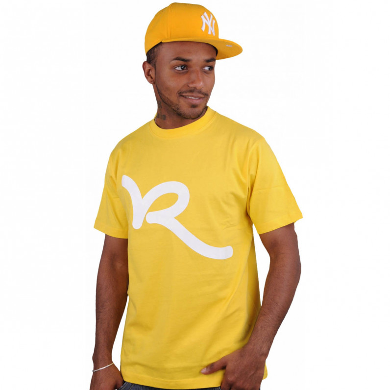 Yellow Cotton R Swinger T-Shirt