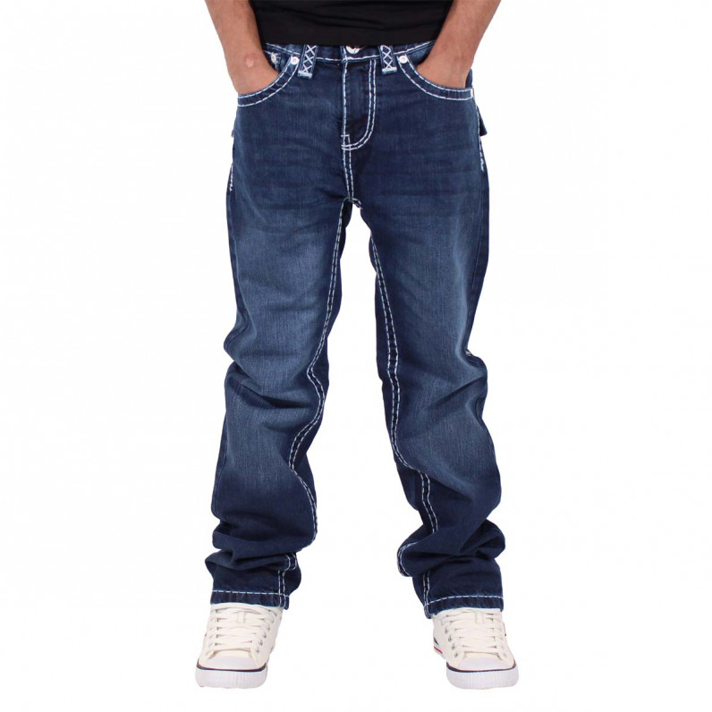 Dark Blue Denim Lawrence Jeans