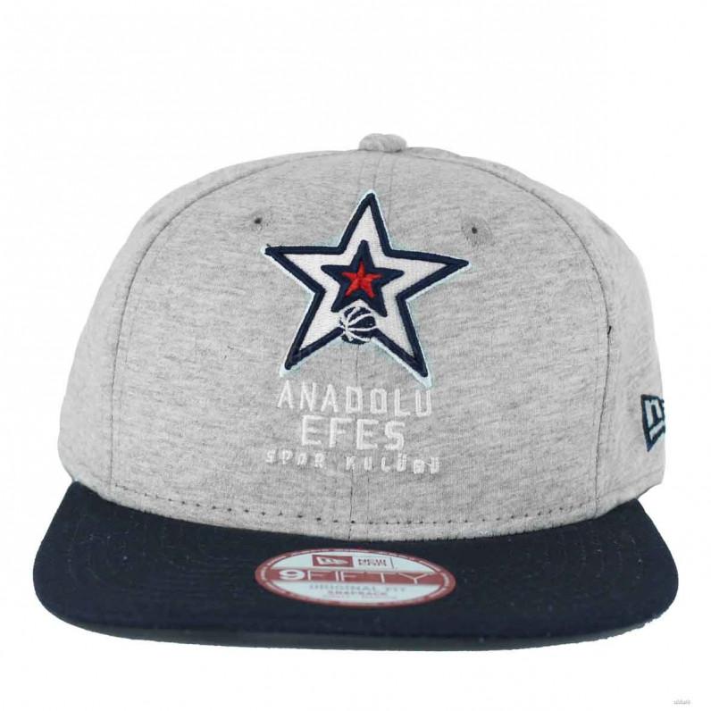 New Era 9Fifty Anadolu Efes Jersey Team Grey Snapback Caps b222e672bd48
