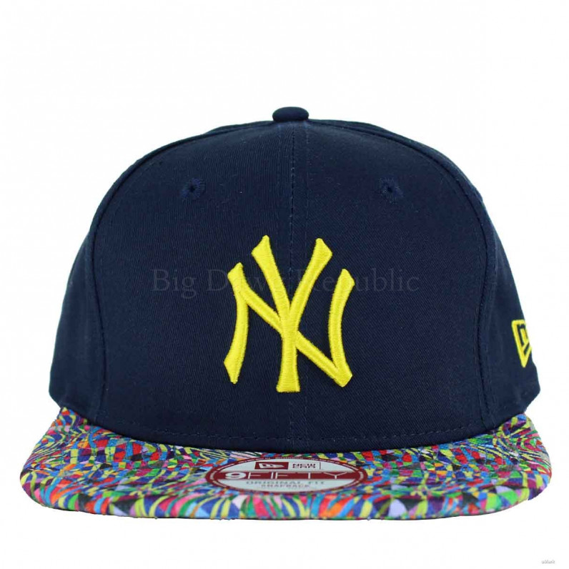 MLB 9Fifty NY New York Yankees Biggie Visor Snapback Cap
