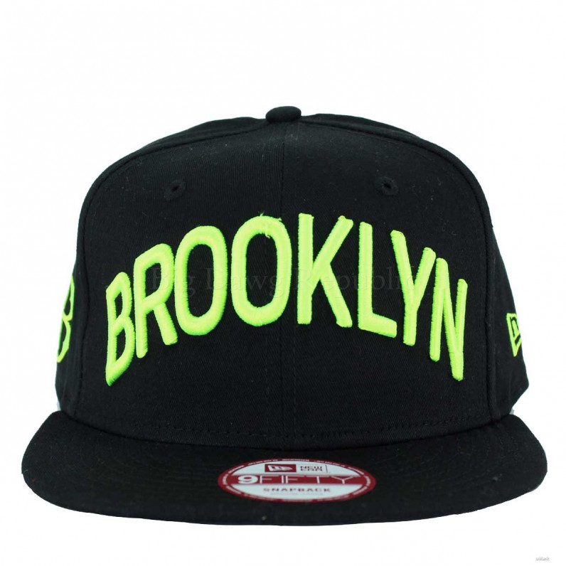 MLB 9Fifty Brooklyn Dodgers Black Snapback Caps
