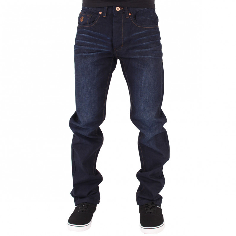 Double R Dark Knight Blue Loose Fit Jeans