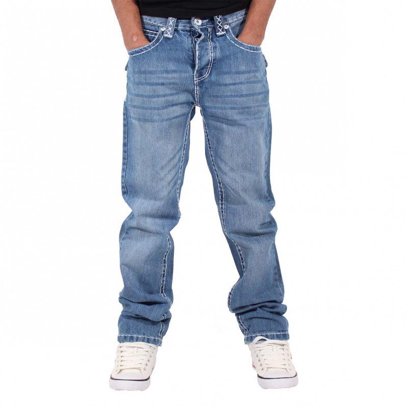 Stonewash Blue Denim Lawrence Jeans