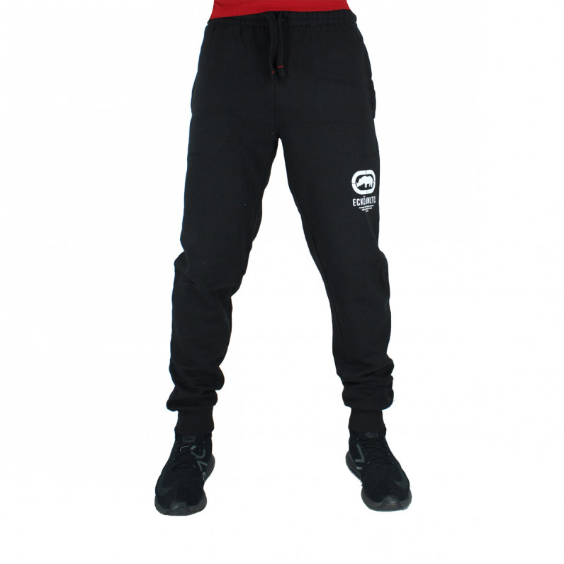 Men's Cullinan Black Cotton Jog Pants