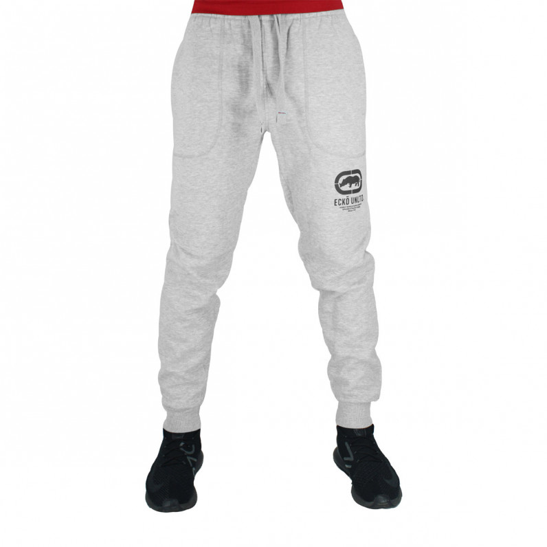 Men's Cullinan Grey Black Cotton Jog Pants