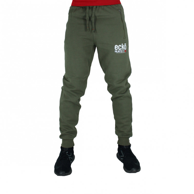 Men's Superfast Navy Cotton Jog Pants