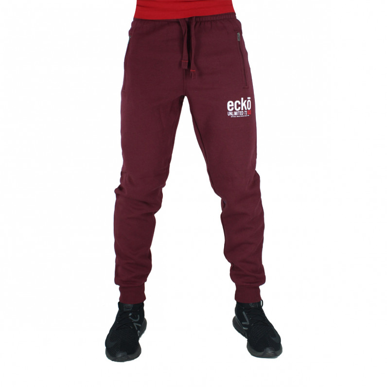 Men's Superfast Red Cotton Jog Pants