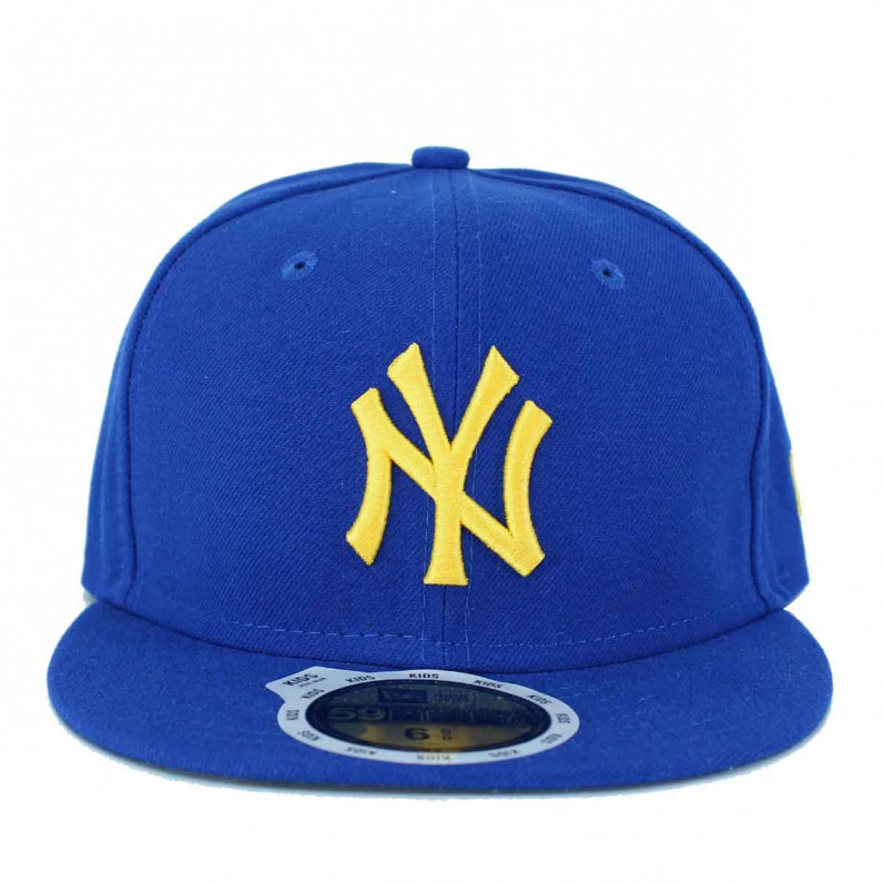 MLB 59Fifty NY New York Yankees Royal Blue Fitted Fitted Caps