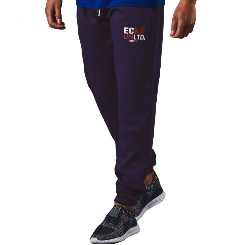 Men's AutoDrome Navy Cotton Jog Pants