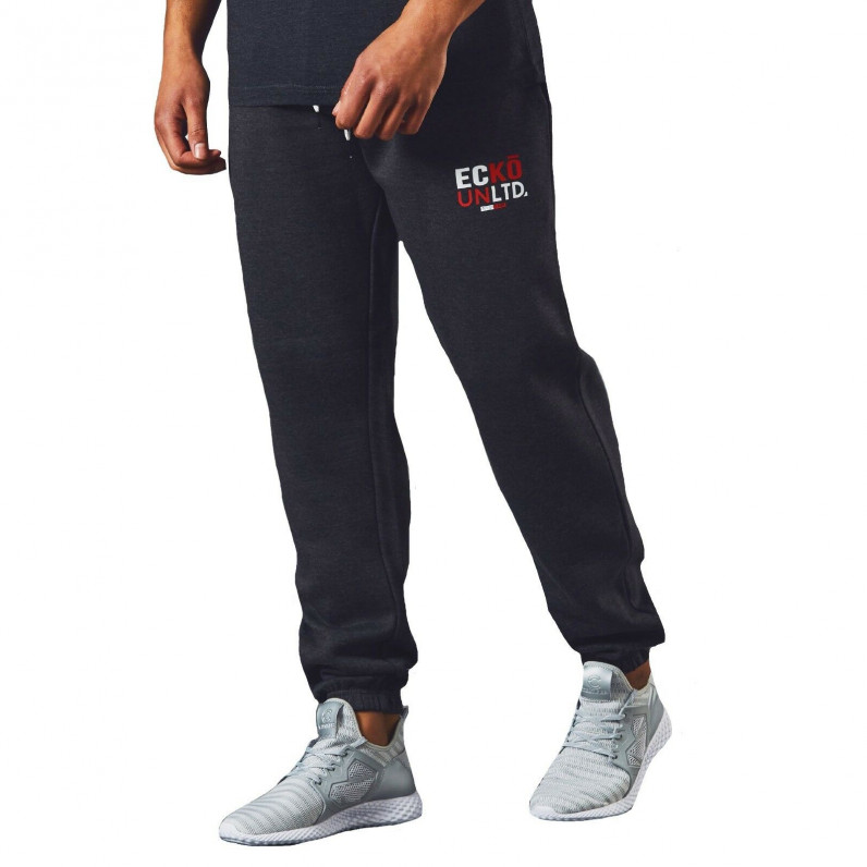 Men's AutoDrome Charcoal Grey Cotton Jog Pants