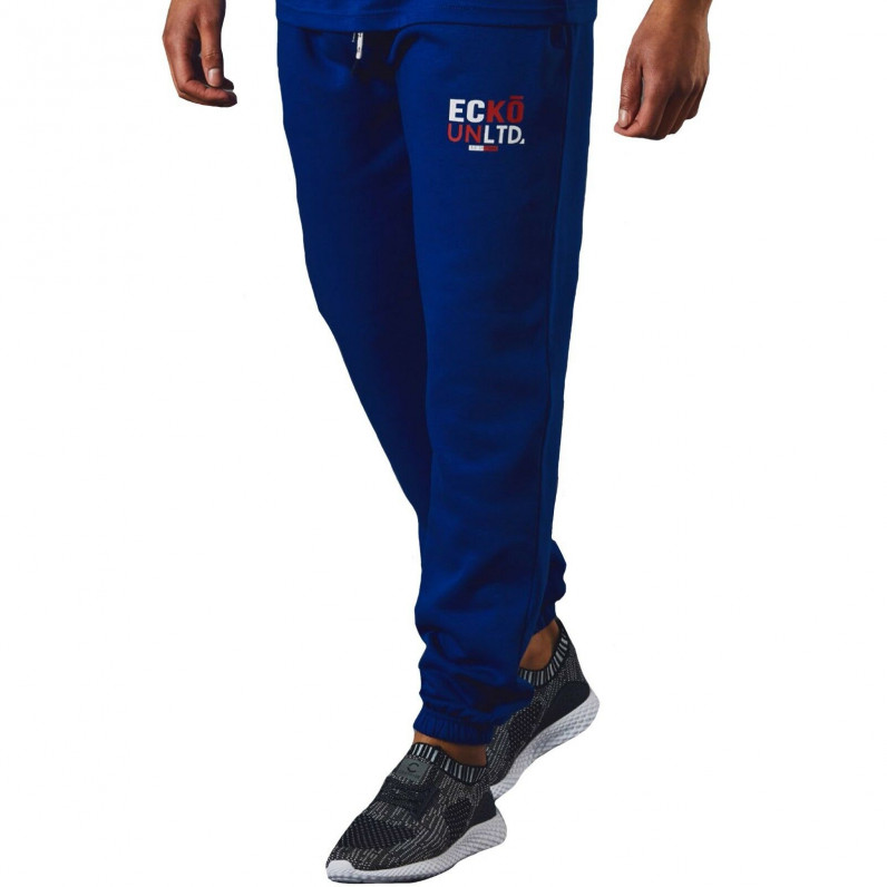 Men's AutoDrome Blue Cotton Jog Pants